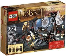LEGO HOBBIT LORD OF THE RINGS ESCAPE FROM MIRKWOOD SPIDERS SET 79001 NEW