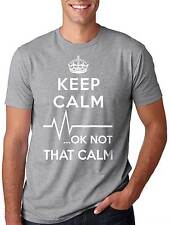 Keep Calm Not That Calm Funny Paramedic T-Shirt