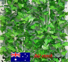 Artificial Grape vine faux Leaf Ivy Garland Plant Fake Foliage Decor Wedding