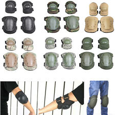 4Pcs Sports Paintball Tactical Elbow Pads Knee Pads Army Protector Gear Skiing