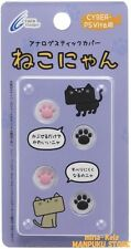 CYBER Gadget analog stick cover cat Nyan PS Vita decollation JAPAN F/S tracking