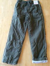 NWT Gymboree Boys Pull on Fleece lined Athletic Pants 5,6,8 Arctic Explorer