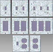 Circuitry Wall Decor Light Switch Plate Cover