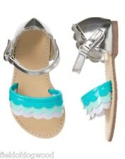 NWT Gymboree tide Pool Scallop Sandals Shoes Toddler 5 6 7 8 9 10