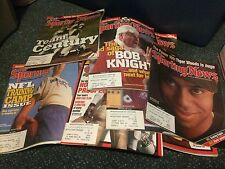 1999-2001 SPORTING NEWS MAGAZINE LOT OF 31 ISSUES and 2000 OFFICIAL NHL GUIDE