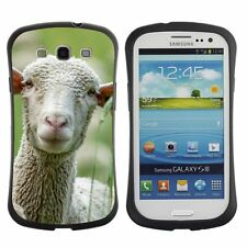 Anti-Drop Shockproof Heavy Duty Case For Samsung Sheep with big ears
