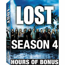 NEW! Lost - The Complete Fourth Season (DVD, 2008, 6-Disc Set)