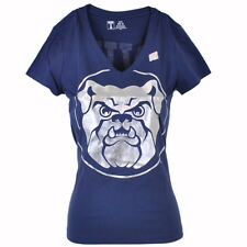 NCAA Butler University Bulldogs Women Ladies Win For Blue Vneck Tshirt Tee