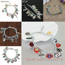 The Avengers Game of Thrones Star Wars Metal Charms Bracelet Fashion Wristbands