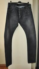 Authentic New Men's Balmain Black 3D Dirty Denim Jeans,size 32 or 33