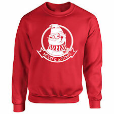 Sweater Snowman S Merry Sweatshirt Christmas Holidays Funny Gift Xmas Snow Humor