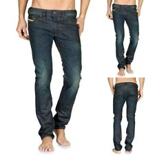 DIESEL MEN'S THANAZ SLIM SKINNY LEG DENIM JEANS 0887K