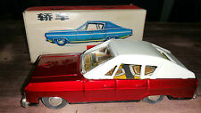 VINTAGE MF17 TIN PLATE SEDAN FRICTION TOY BOXED