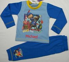 Personalised Mike the Knight pyjamas age 18 months - 4 years with a name