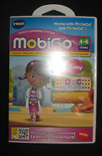 MobiGo Vtech Game Disney Doc Mcstuffins Also Works With MobiGo2 NIP 4-6 years