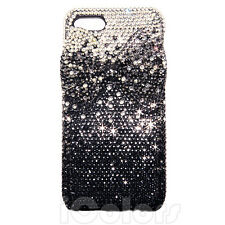 3D Bow Black Crystal Bling Case Cover For iPhone 6 6s 7 Plus W/ SWAROVSKI ELEMEN