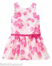 NWT Gymboree Egg Hunt Floral Dress SZ 5 special Occassion Wedding