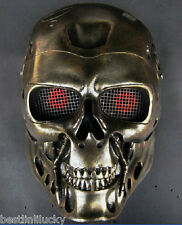 new Horror terminator mask helmet scary Ghost creepy masquerade Resin prop party