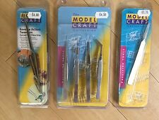 ModelCraft Collection-precision hobby hand tools See our Selection -GREAT P&P