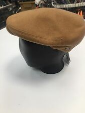 New Men's Bailey of Hollywood Cole Ivy Flat Cap Hat Cashmere Wool Made In Italy