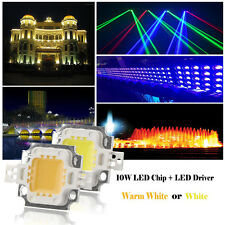 High Power LED SMD Chip Cool/Warm White Integrated Beads Lamp with Driver 10/50W