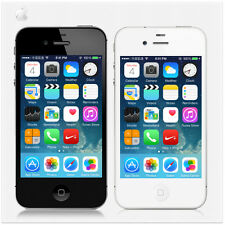 Apple iPhone 4S 16GB/32GB/64GB White Black Factory Unlocked Smartphone Mobile