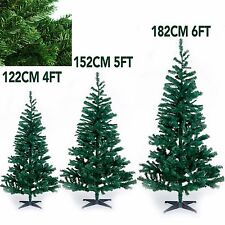 GREEN ARTIFICIAL XMAS TREE DECORATION WITH STAND CHRISTMAS TREE INDOOR/OUTDOOR