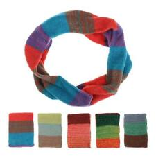 Comfy Warm Women Colorful Knitting Wool Neck Circle Wool Snood Scarf Wrap