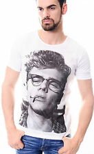JAMES DEAN White T-SHIRT MAN VEST TOP , JAMES BYRON DEAN American Actor