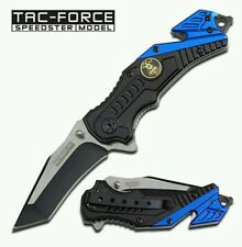 TAC-FORCE POLICE/LAW ENFORCMENT TF-640PD SPRING ASSISTED FOLDING KNIFE
