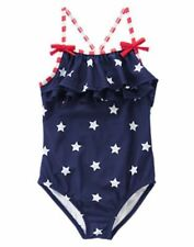 Gymboree Swimsuit 4th July Blue Star Spangled Summer 4 5 6 8 10 12 NEW Girl