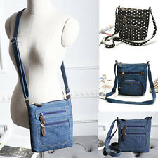 Womens Cowboy Shoulder Crossbody Bags Canvas Satchel Handbag Messenger Hobo Bag