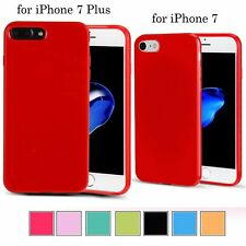 Soft Silicone Rubber Gel Shockproof Case Cover Skin for Apple iPhone 7 / 7 Plus