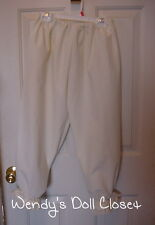 Woman's-Bloomers / Pantaloons 100 % Cotton *Off White* Civil War/Pioneer