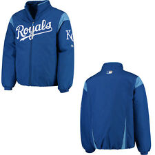 Majestic MLB Men's Therma Base On Field Premier Jacket Kansas City Royals $150