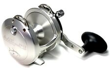 New Avet HX 5/2 Fishing Reel 2 Speed-Silver- Free Spooling and Ship