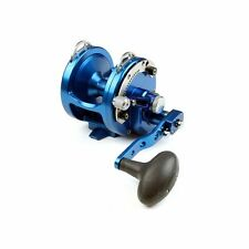 New Avet HX 5/2 Fishing Reel 2 Speed-Blue- Free Spooling and Ship