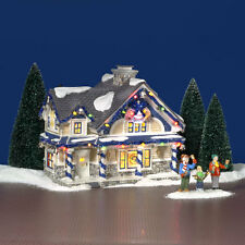 Dept. 56 Snow Village, The Jingle Bells House, BNIB,Retired and Hard to Find!