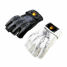 MMA UFC Sparring Grappling Fight Boxing Punch Ultimate Mitts Leather Gloves EW