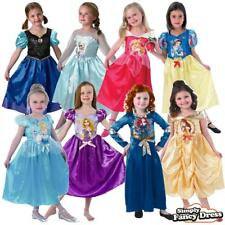 Child Disney Princess Classic Storytime Kids Girls Fancy Dress Costumes