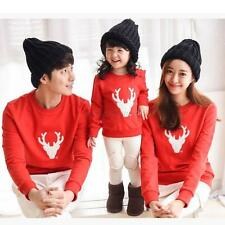 Family Matching Tops Mother Father Kid Dad Mom Baby Long Sleeve Pullover T Shirt