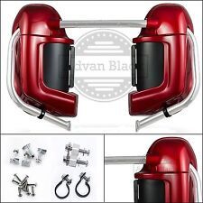 """Color-Matched Lower Vented Fairing Set Fit Harley HD """"Road Glide"""" 2003-2013"""