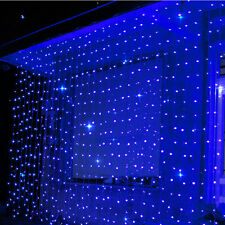 300 LED Christmas Fairy String Net Lights Xmas Party Tree Window Curtain Ceiling