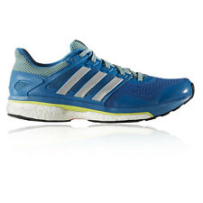 Adidas Supernova Glide 8 Mens Blue Sneakers Running Road Shoes Trainers