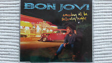 Bon Jovi Someday I'll Be Saturday Night (Rare/Near Mint) 1995 CD Single