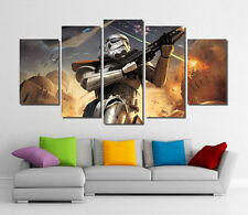 Framed Wall Canvas Art - Star Wars Stormtrooper The Force Awakens Canvas Print