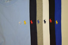 Men's Ralph Lauren Custom Fit Crew Neck T Shirt - Short Sleeve RL T Shirt