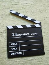 Disney MGM Movie Video Film Director Slate Clapper Board Clapboard Clap Stick