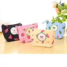 Lovely Fruit Style Canvas Change Purse Coin Purse Bag Wallet Handbag Gift