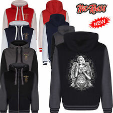 Hotrod 58 Marilyn Monroe Vintage Rockabilly Retro Hoody Hoodie zipper Jacket 132